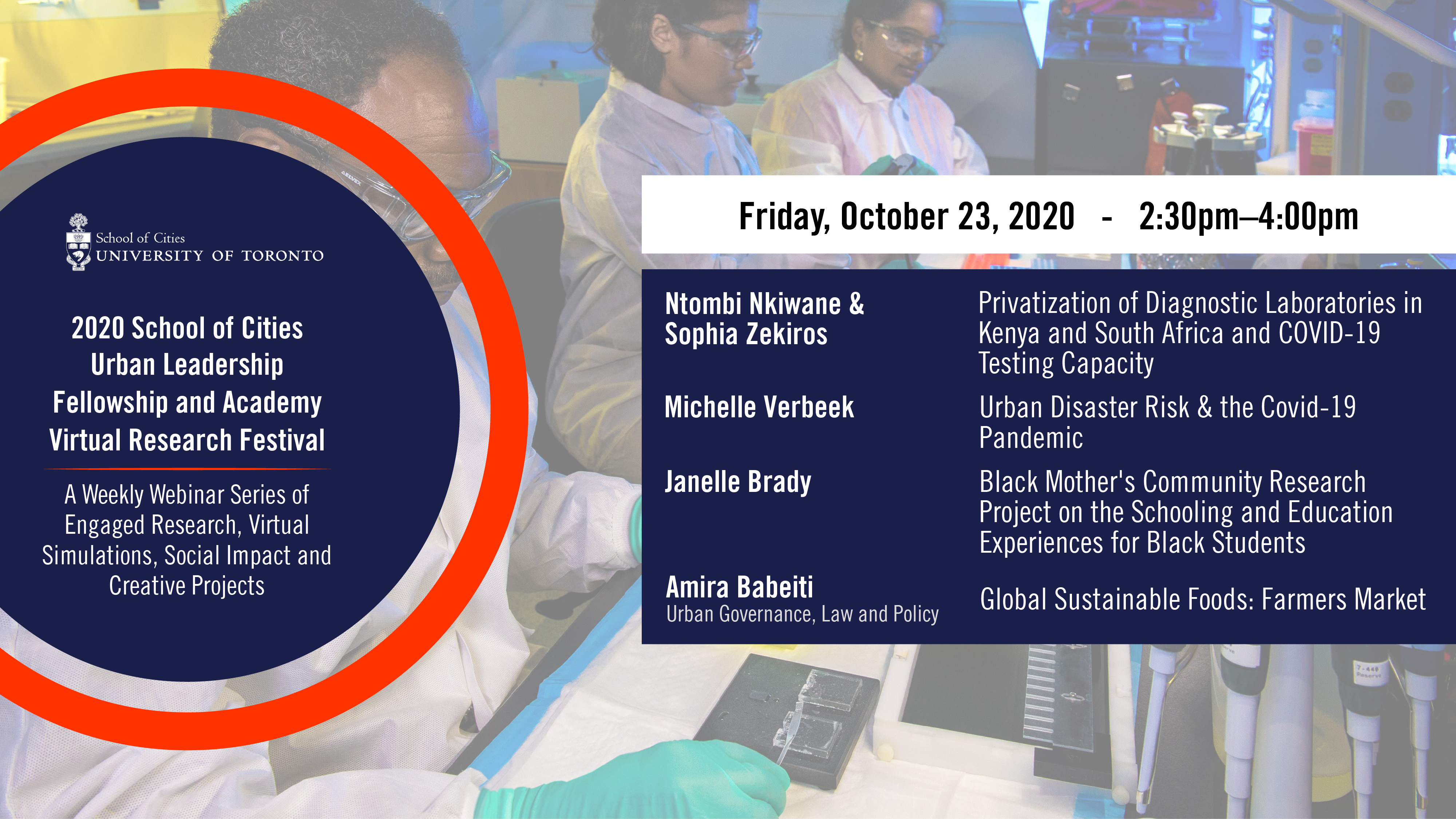 Virtual Research Conference Session 8 banner