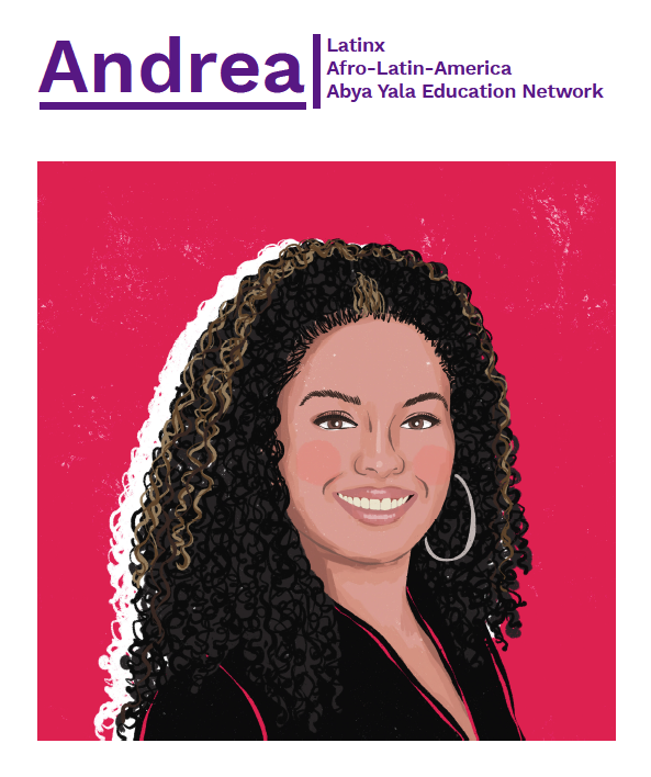 Andrea is the co-director of Latinx, Afro-Latin-America, Abya Yala Education Network (LAEN)