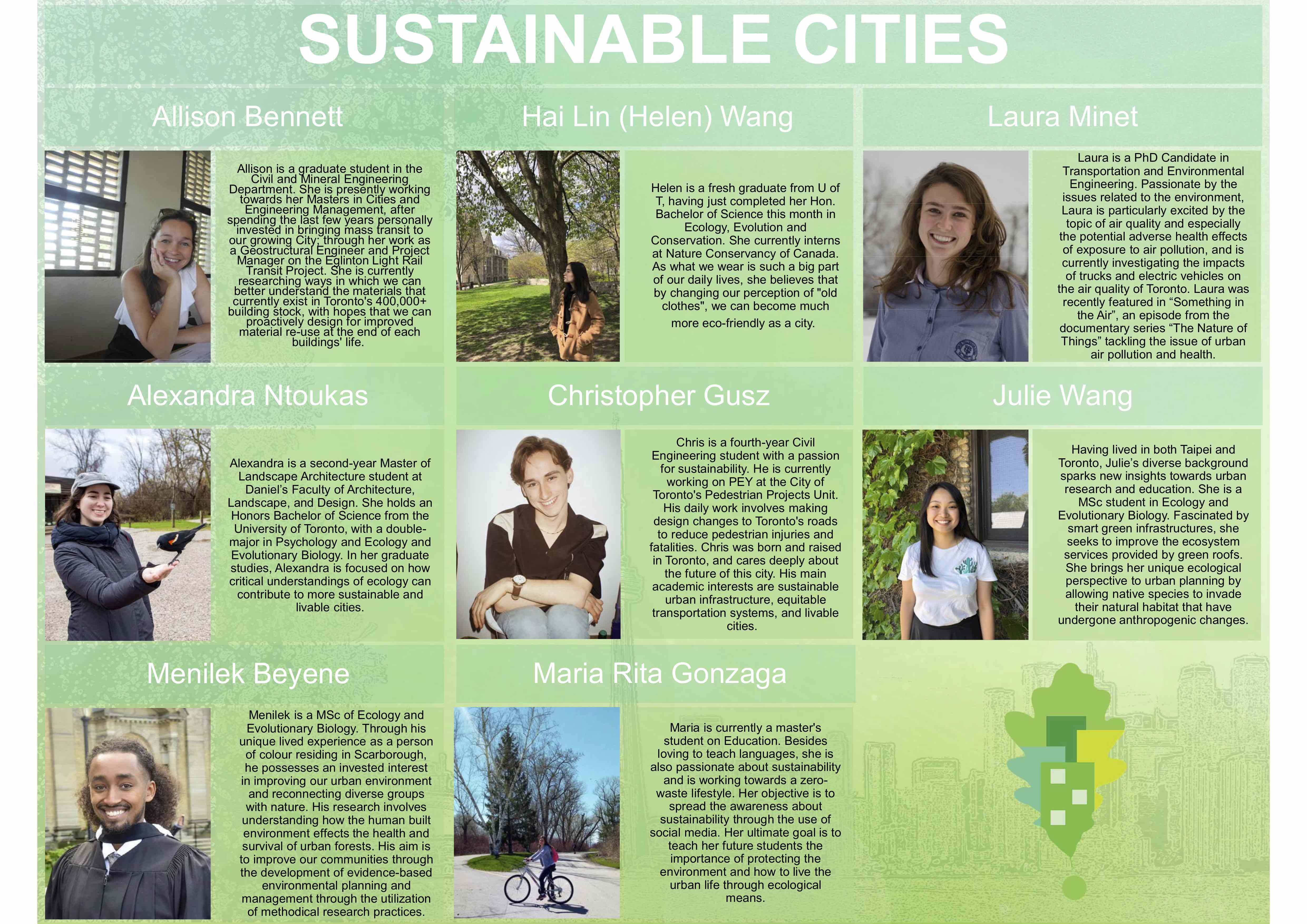 Sustainable Cities Group Members