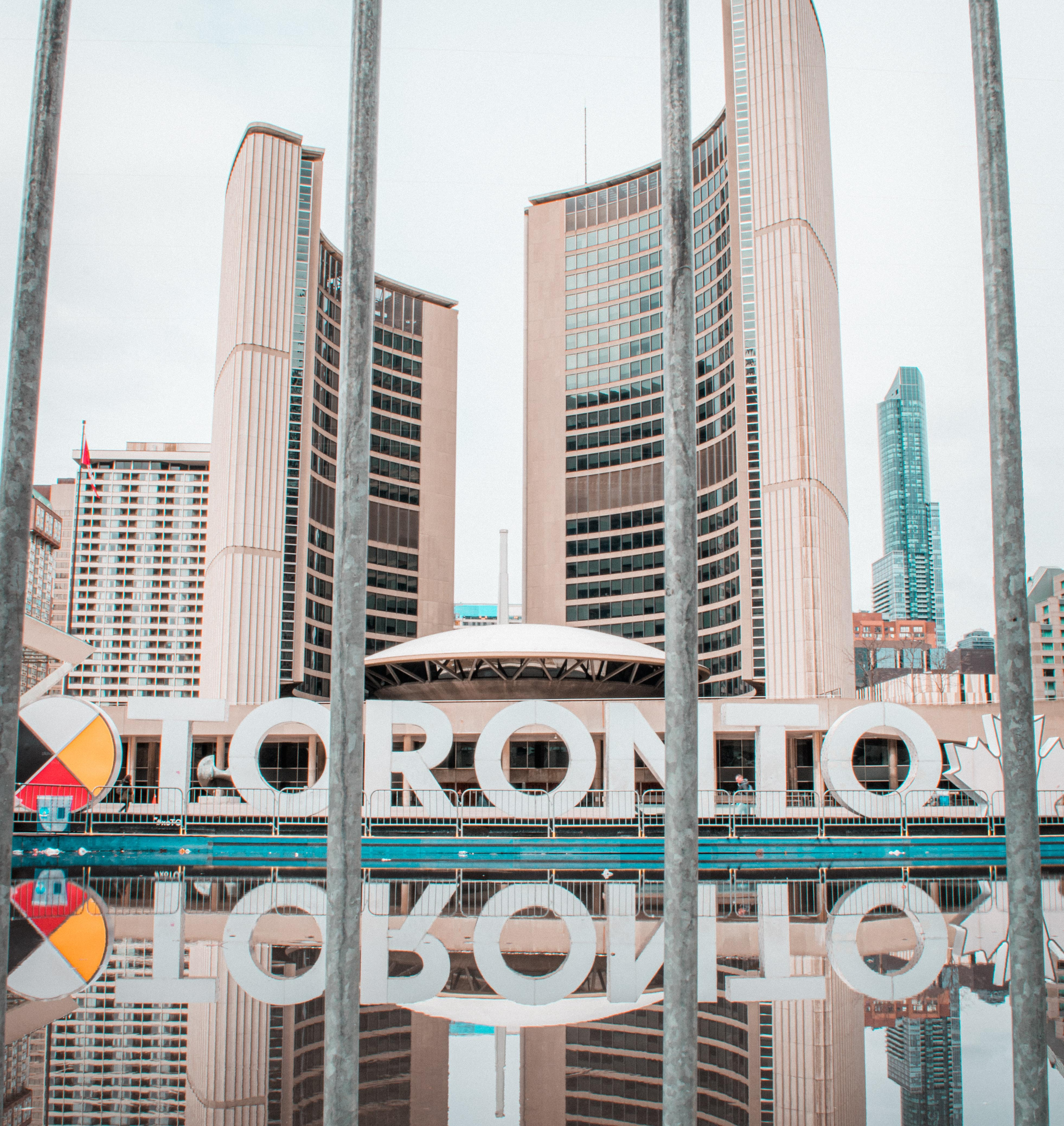 Image of the Toronto sign at Nathan Philips Square
