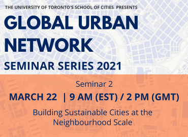 Global Urban Network 2021 Session 2: Urban Equitable Resilience:  Power Structures, Spatial Justice, and Climate Action, to be held on March 1