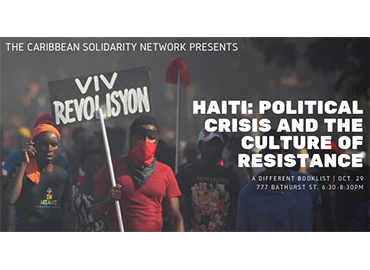 Haiti Political Crisis and the Culture of Resistance