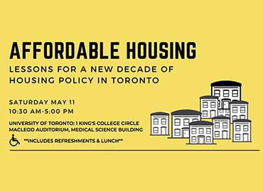 Affordable Housing symposium poster