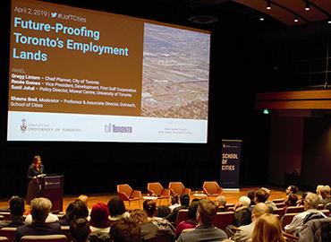 Employment Lands event at Innis Town Hall