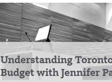 Understanding Toronto's Proposed City Budget