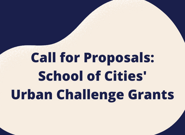 Call for Proposal: SofC's Urban Challenge Grants