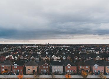 Houses in Ajax, Ontario by Andrik Langfield via Unsplash