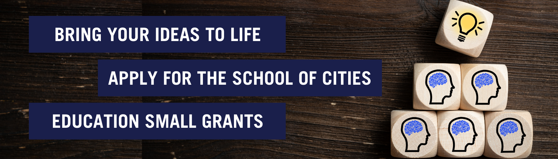 Bring your academic ideas to life with an SofC Education Small Grant Funds