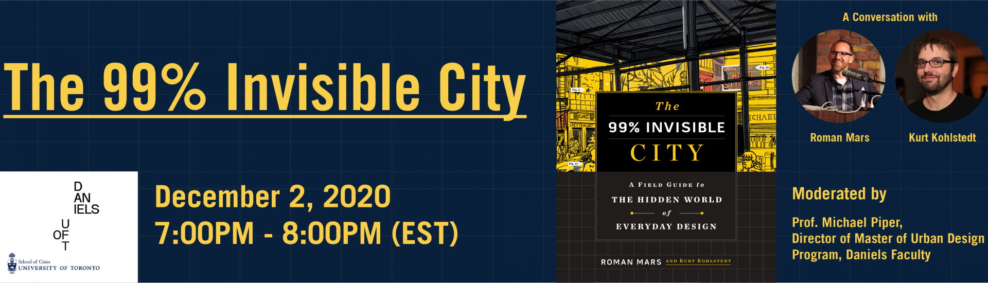 In the book, The 99% Invisible City, the authors zoom in on the various elements that make our cities work